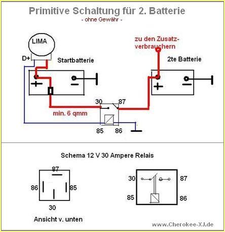 Fantastisch Doppel Batterie Schaltplan Boot Zeitgenössisch - Die ...